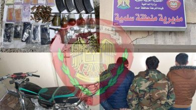 Photo of القبض على عصابة سرقة في سلمية بريف حماة