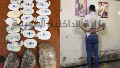 Photo of ضبط مروج مخدرات بحوزته 6 كيلو حشيش مخدر بريف دمشق