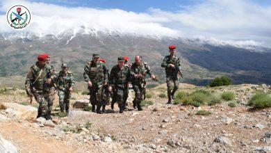 Photo of وزير الدفاع علي أيوب يقوم بزيارة ميدانية لوحدات الجيش في المنطقة الجنوبية