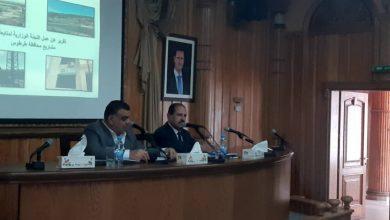 صورة وزير النقل من طرطوس: إنجاز مشروع نقل الحصويات وتدشينه قريبا من رئيس الحكومة