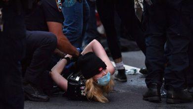 Photo of ترامب يدعو لاستخدام العنف ويهدد بنشر الجيش.. وشرطة نيويورك تعتقل المئات