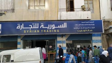 صورة رقابة دمشق تضبط محلا يتاجر بمواد غذائية مخصصة للسورية للتجارة