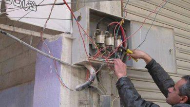 صورة 617 مخالفة استجرار غير مشروع للكهرباء في حمص.. منها 20 في حسياء الصناعية