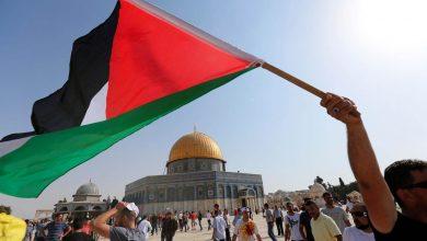 صورة نداء من منظمة التحرير الفلسطينية لشعوب ودول العالم