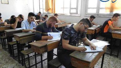 صورة 1055 طالباً وطالبة تقدموا لامتحانات اليوم في الحسكة