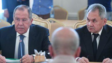 صورة لافروف وشويغو يصلان تركيا غداً والملفان السوري والليبي على طاولة البحث