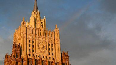 صورة الخارجية الروسية: لافروف وظريف يلتقيان في 16 حزيران  في موسكو