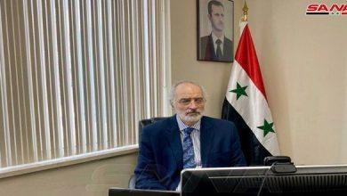 صورة شكوى رسمية سورية للأمم المتحدة ضد دول أعضاء فيها تمارس جرائم حرب اقتصادية بإحراق محاصيل السوريين