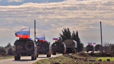 "Photo of الدورية المشتركة الروسية التركية الـ ١٥ تصل إلى ""بسنقول"" على ""M4"".. وتفجير عند أريحا"