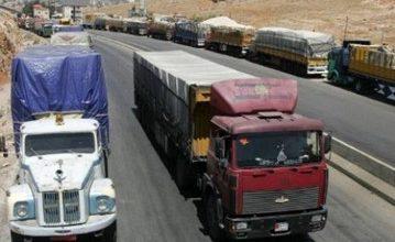 Photo of الحكومة تتحمل ربع تكاليف الشحن البري للمنتجات الزراعية إلى العراق والخليج لدعم تصديرها