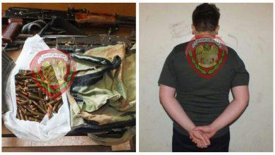 صورة القبض على جميع المتورطين بقتل امرأة في حي الصابونية بحماة