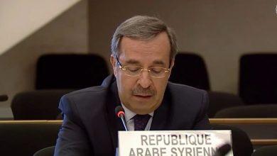Photo of مندوب سورية الدائم لدى مكتب الأمم المتحدة في جنيف: تمديد الإجراءات الأوروبية وتطبيق «قانون قيصر» جريمة ضد الإنسانية