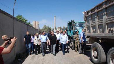 Photo of اللجنة الوزارية تتفقد مشاريع حماة الخدمية