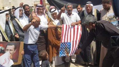صورة تعاظم واتساع الرفض الشعبي للاحتلالين الأميركي والتركي في شمال البلاد