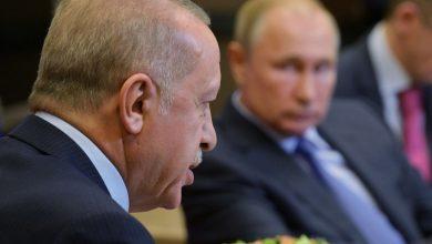 صورة بوتين ورئيس النظام التركي يبحثان هاتفياً الأوضاع في إدلب