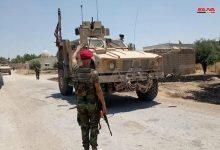 Photo of حواجز الجيش تعترض عربات للاحتلال الأميركي بريف الحسكة وتجبرها على العودة