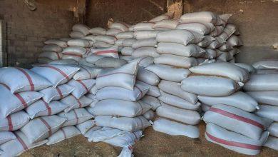 صورة ضبط ٩٠ طن من القمح المحلّي في منشَرَين لصناعة البرغل بحلب