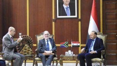 Photo of سفير دولة جنوب إفريقيا يؤكد رغبة بلاده في تطوير العلاقات مع سورية