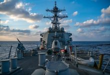 Photo of تدريبات أميركية في بحر الصين الجنوبي تحت أنظار سفن الأخيرة