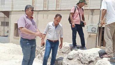 Photo of بدء أعمال التنقيب في لوحة حي المدينة الأثري بحماة