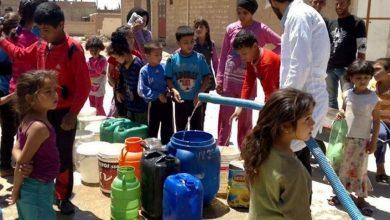 صورة محافظ الحسكة يبحث مشكلة قطع مياه الشرب مع مدير «اليونيسيف»