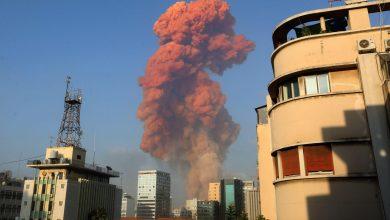 Photo of ارتفاع حصيلة ضحايا انفجار بيروت إلى 160 ووزيرة المهجرين: لن نهرب من مسؤولياتنا