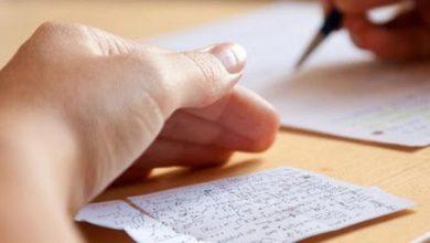 صورة ٢٠ حالة غش في امتحانات الشهادة الثانوية بالحسكة