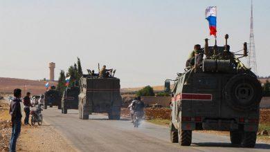 صورة دورية روسية مشتركة مع الاحتلال التركي في ريف عين العرب