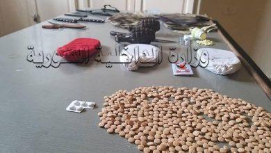 Photo of القبض على (16) شخص في حلب يقومون بترويج وتعاطي المخدرات وسرقة المنازل وترهيب المواطنين