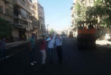 Photo of حلب تعبِّد المحور الذي يربط مركز المدينة بأحيائها الجنوبية