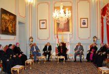 Photo of يازجي يستقبل زاسيبكين بمناسبة انتهاء أعمال الأخير في بيروت