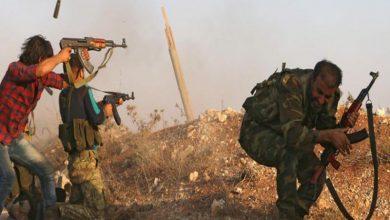 صورة قتلى ومصابون في صفوف ميليشيات «قسد» بهجومين منفصلين