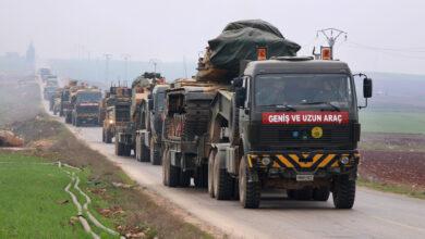 صورة الاحتلال التركي يخلي بالكامل رابع نقطة مراقبة شرقي سراقب