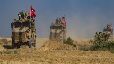 صورة جرح ٣ جنود لجيش الاحتلال التركي غرب حلب بقصف مجهول