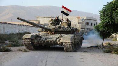 صورة استشهاد عنصر من الجيش وإصابة 3 آخرين بانفجار لغم بريف سلمية