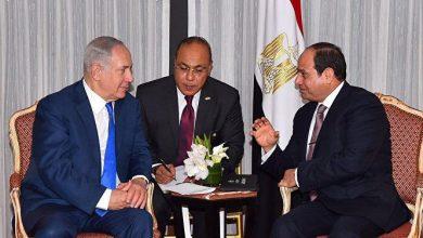 صورة السيسي لنتنياهو: مصر تدعم خطوات إحلال السلام بما يحافظ على حقوق الفلسطينيين