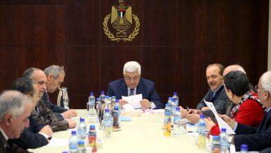 صورة اجتماع للفصائل الفلسطينية في بيروت ورام الله لمواجهة «صفقة القرن» ومخاطر التطبيع