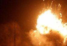 صورة شهيد وعدة إصابات في انفجار محطة محروقات بمنطقة الرميلان بريف الحسكة
