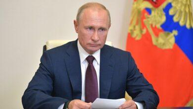 صورة بوتين: روسيا مضطرة لتطوير صواريخ فرط صوتية بعد انسحاب واشنطن من اتفاقية الدفاع الجوي
