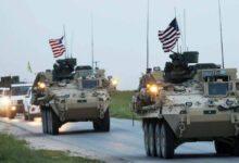 صورة رتل عسكري جديد للاحتلال الأميركي يدخل الأراضي السورية قادماً من العراق