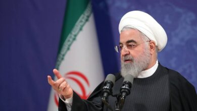صورة روحاني: العقوبات الأميركية على إيران أكبر عملية وحشية مورست ضد دولة
