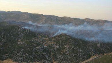 صورة قائد الدفاع المدني بحمص لـ«الوطن»: إخماد جميع حرائق وادي النضارة بريف حمص الغربي