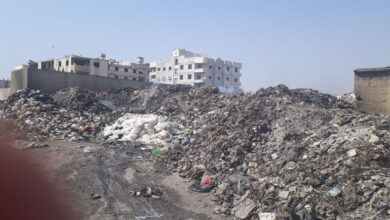 صورة 70 ألف م3 قمامة بين أحياء عربين السكنية تنتظر ترحيلها!