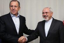 صورة لافروف وظريف يبحثان غداً الاتفاق النووي الإيراني وسورية