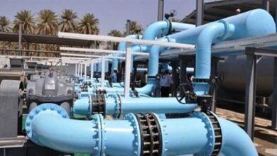 صورة تشغيل محطة مياه المطوق لإرواء مدينة جاسم في درعا
