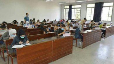 صورة 965 طالباً وطالبة تقدموا اليوم لامتحانات السنة التحضيرية للكليات الطبية في جامعة البعث