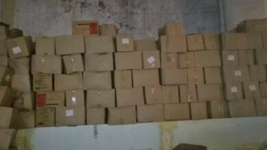 صورة «حماية المستهلك» تضبط مخللات وزيتوناً فاسداً و«بسكويت» منتهي الصلاحية في ريف دمشق