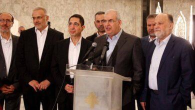 """صورة """"الوفاء للمقاومة"""" اللبنانية: نرفض أن يسمي أحد عنا الوزراء الذين ينبغي أن يمثلونا في الحكومة .. وأميركا تخرب مساعي تشكيلها"""
