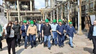 صورة عرنوس: بجهود عمالنا وكفاءاتنا الوطنية قادرين على تامين كل متطلبات العمل والإنتاج