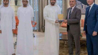 صورة زيارة ناجحة لكرتنا إلى الإمارات